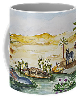 Cruising Along The Nile Coffee Mug