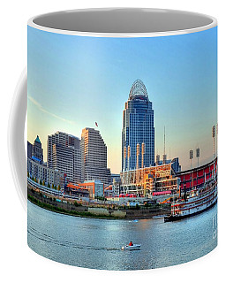 Cruising By Cincinnati Coffee Mug