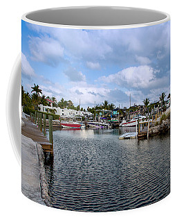 Cruising Into Camp Coffee Mug by John M Bailey