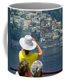 Cruising The Amalfi Coast Coffee Mug