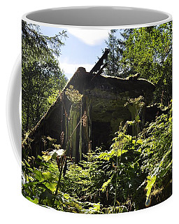 Crumbling Down Coffee Mug by Cathy Mahnke