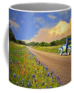 Crusin' The Hill Country In Spring Coffee Mug