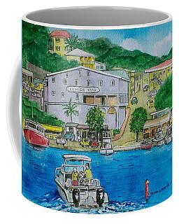 Cruz Bay St. Johns Virgin Islands Coffee Mug