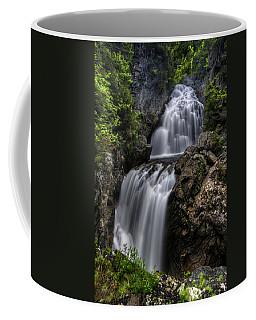 Crystal Cascade In Pinkham Notch Coffee Mug
