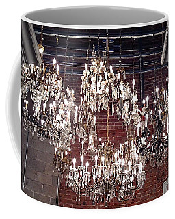 Crystal Chandeliers Coffee Mug by M West
