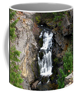 Crystal Falls Coffee Mug by Greg Patzer