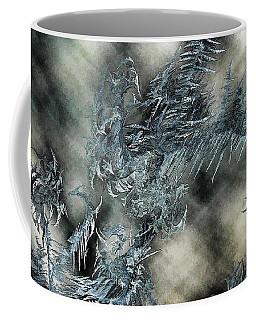 Coffee Mug featuring the digital art Crystal Heaven by Steven Richardson