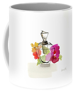 Crystal Watercolor Perfume II Coffee Mug