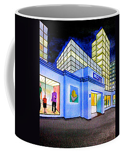 Csm Mall Coffee Mug by Cyril Maza