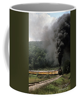 Chessie Steam Special At Lineboro Md Coffee Mug