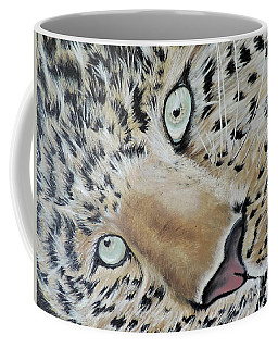 Coffee Mug featuring the painting cub by Dianna Lewis