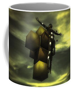 Cube Cross Coffee Mug