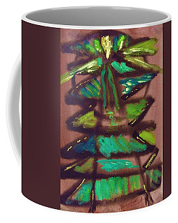 Cubist Tree Coffee Mug by Mary Carol Williams