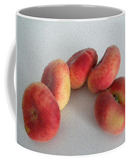 Cubist View Of Peento Peaches Coffee Mug