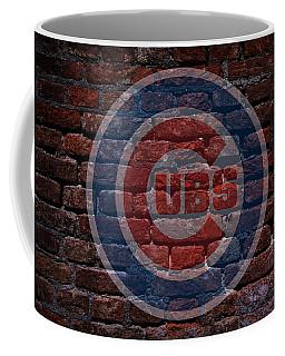 Cubs Baseball Graffiti On Brick  Coffee Mug