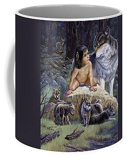Cubsgregory Perillo Western Art Wildlife Art Landscape Art Indian Art Animal Art Children Art Oil Pa Coffee Mug