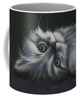 Coffee Mug featuring the drawing Cuddles by Cynthia House