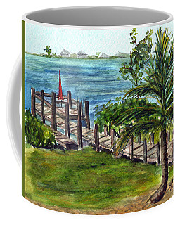 Cudjoe Dock Coffee Mug