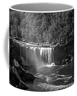 Cumberland Falls Five Bw Coffee Mug