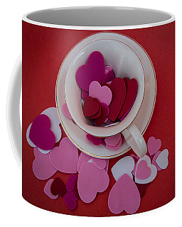 Cup Full Of Love Coffee Mug by Patrice Zinck