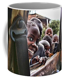 Coffee Mug featuring the photograph Curiosity by Wallaroo Images