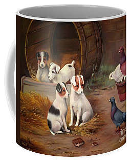 Curious Friends Coffee Mug by Hazel Holland