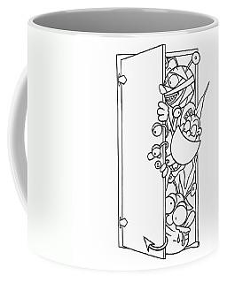 Curious Monster Coffee Mug