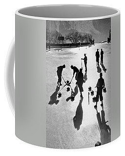 Curling At St. Moritz Coffee Mug