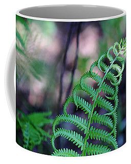 Curls Coffee Mug by Debbie Oppermann