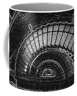 Currituck Lighthouse Stairs Coffee Mug