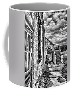 Coffee Mug featuring the painting Curtis Gray by Steven Richardson