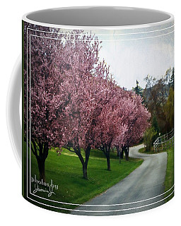 Curve In The Road Coffee Mug