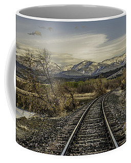 Curve In The Tracks Coffee Mug