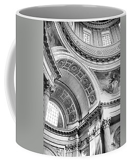 Curve Meets Pillar Coffee Mug
