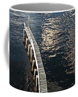 Curved Fender Las Olas Drawbridge Fort Lauderdale Florida Coffee Mug