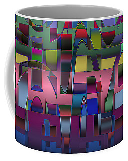 Curves And Trapezoids  Coffee Mug