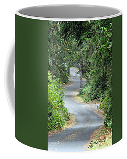 Curves Into Leadbetter Point State Park II Coffee Mug
