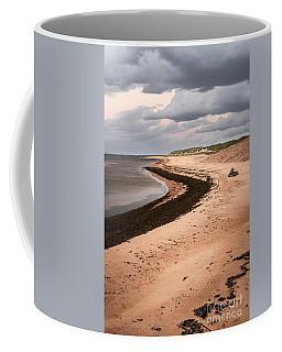 Curves On Beach Coffee Mug