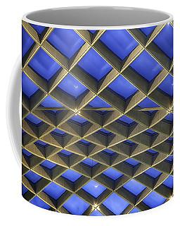 Curvilinear Skylight Structure  Coffee Mug by Lynn Palmer