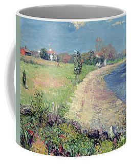 Curving Beach Coffee Mug