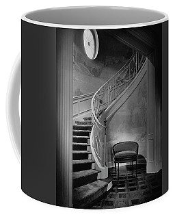 Curving Staircase In The Home Of  W. E. Sheppard Coffee Mug