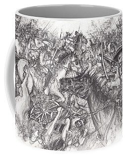 Custer's Clash Coffee Mug by Scott and Dixie Wiley