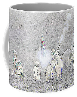 Custers Last Stand Coffee Mug