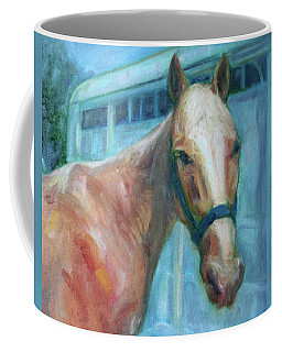 Custom Pet Portrait Painting - Original Artwork -  Horse - Dog - Cat - Bird Coffee Mug