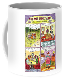 Cut-rate Think Tanks Coffee Mug