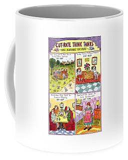 Cut-rate Think Tanks Coffee Mug