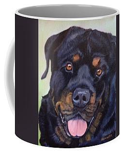 Cutter The Rottweiller Coffee Mug