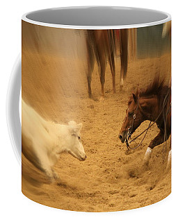 Cutting Horse 8 Coffee Mug