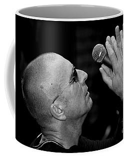 Cy Curnin The Fixx By Diana Sainz Coffee Mug