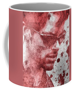 Cyclops X Men Paint Splatter Coffee Mug